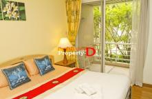 CD59101491- Condo Baan San Saran Sea coast. Hua Hin has a balcony, walk into the sea about 50 meters.