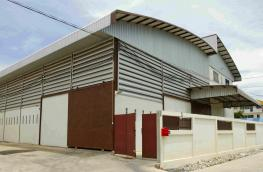 WH62010006-Warehouse factory for rent, Krathumbaen, 1 rai, full area with room Next to Klong Khae Road